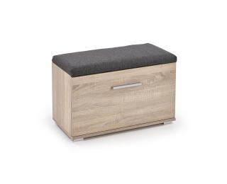 Botník (skrinka na topánky) Lima ST2 - dub sonoma / sivá