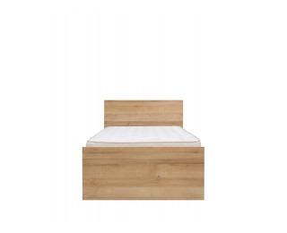 Jednolôžková posteľ Balder LOZ/90 - dub riviera