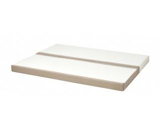 Penový matrac Carbo 75/150 - biela / béžová