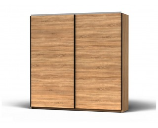Šatníková skriňa s posuvnými dverami Colin 220 - dub sonoma