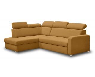 Rohová sedačka s rozkladom FX-15 H B1 L/P - žltá