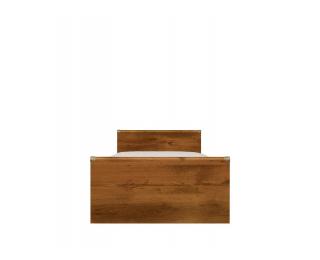 Jednolôžková posteľ s úložným priestorom Indiana JLOZ90 - dub sutter