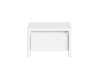 Nočný stolík Kaspian KOM1S - biela