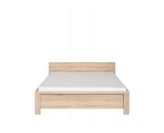 Manželská posteľ Kaspian LOZ/140 - dub sonoma