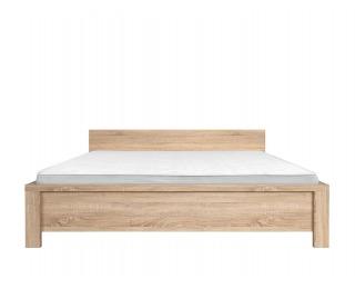 Manželská posteľ Kaspian LOZ/160 - dub sonoma