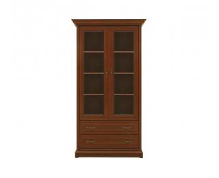 Rustikálna vitrína Kent EWIT2D2S - gaštan