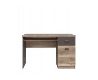 PC stôl Malcolm BIU1D1S - dub canyon monument / sivý wolfram / potlač