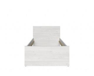 Jednolôžková posteľ Namur LOZ/90 - smrekovec sibiu svetlý