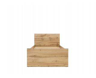 Jednolôžková posteľ Zele LOZ/90 - dub wotan