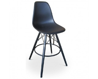 Barová stolička Carbry - čierna