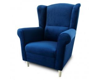 Kreslo Charlot - modrá