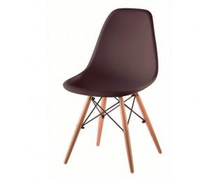 Jedálenská stolička Cinkla 2 New - tmavohnedá / buk