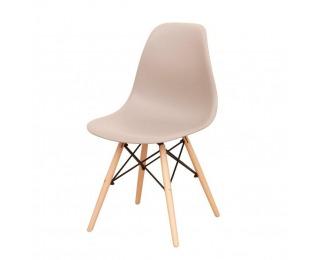 Jedálenská stolička Cinkla 2 New - teplá sivá / buk