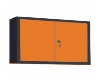 Uzatvárateľná nadstavba k pracovnému stolu Classic Line - grafit / oranžová
