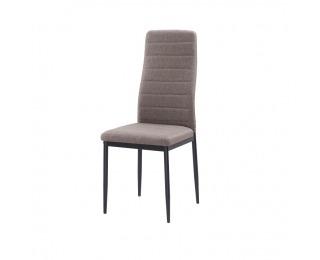 Jedálenská stolička Coleta Nova - hnedá / čierna