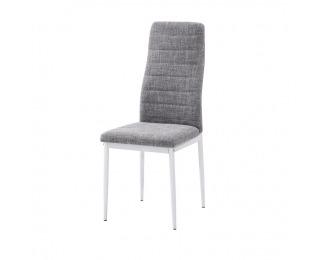 Jedálenská stolička Coleta Nova - svetlosivá / biela