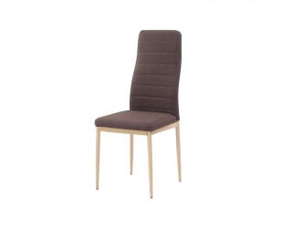 Jedálenská stolička Coleta Nova - tmavohnedá / buk