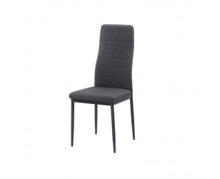 Jedálenská stolička Coleta Nova - tmavosivá / čierna
