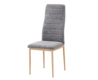 Jedálenská stolička Coleta Nova - svetlosivá / buk