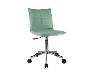 Kancelárska stolička Craig - mentolová / chróm
