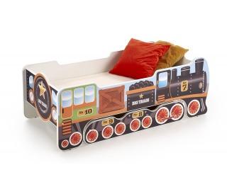 Detská posteľ s matracom Lokomo - kombinácia farieb