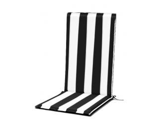 Podsedák Dumpy PO3 - čierna / biela