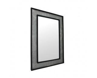Zrkadlo na stenu Elison Typ 9 - strieborná / čierna