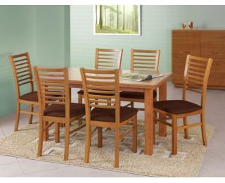 Rozkladací jedálenský stôl Emil - jelša