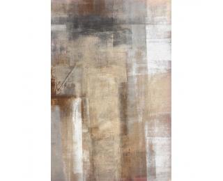 Koberec Esmarina Typ 1 180x270 cm - hnedá / sivá