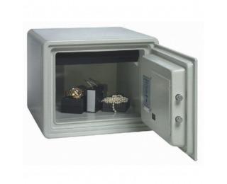 Žiaruvzdorný trezor s elektronickým zámkom Executive 25 - svetlosivá