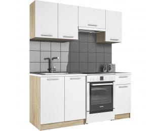 Kuchyňa Firenze 180 - dub sonoma / biela