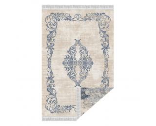 Obojstranný koberec Gazan 80x150 cm - vzor / modrá