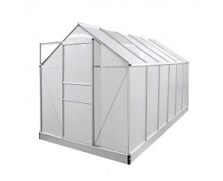 Záhradný skleník Glasshouse 310x190x205 cm - priehľadná