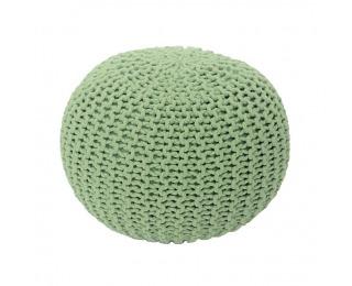 Pletená taburetka Gobi Typ 1 - svetlozelená