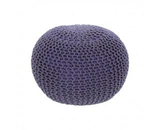 Pletená taburetka Gobi Typ 2 - fialová