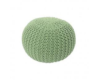 Pletená taburetka Gobi Typ 2 - svetlozelená