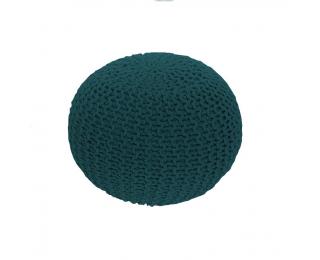 Pletená taburetka Gobi Typ 2 - petrolejová