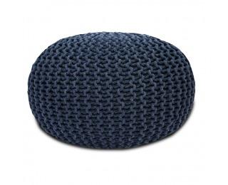 Pletená taburetka Gobi Typ 2 - sivá