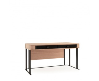 Písací stôl Grande GR - dub (Grande 01) / čierna