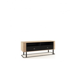 TV stolík Grande GR-RTV/M - dub (Grande 01) / čierna