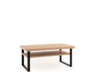 Konferenčný stolík Grande GR-S2 - dub (Grande 01) / čierna