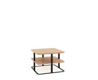 Konferenčný stolík Grande GR-S3 - dub (Grande 01) / čierna