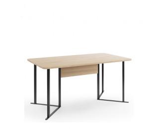 Jedálenský stôl Grande GR-S4 - dub (Grande 01) / čierna
