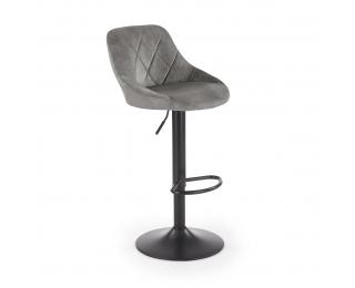 Barová stolička H-101 - sivá / čierna