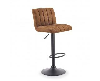 Barová stolička H-89 - hnedá / čierna