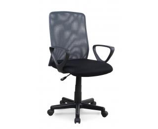Kancelárska stolička s podrúčkami Alex - čierna / sivá