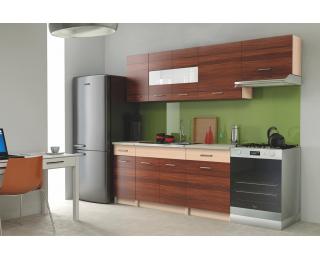 Kuchyňa Alina 240 - brest Piemonte / dub mliečny