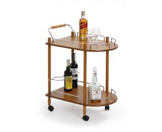 Servírovací stolík na kolieskach BAR-4 - buk