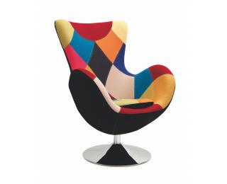 Relaxačné kreslo Butterfly - kombinácia farieb / čierna