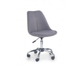 Detská stolička na kolieskach Coco 4 - svetlosivá